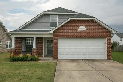 Murfreesboro Single Family Home For Sale: 1609 Beaconcrest Cir