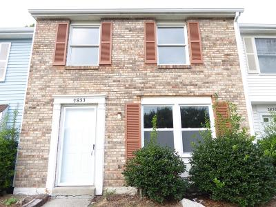 Nashville Condo/Townhouse For Sale: 2833 Lake Forest Dr