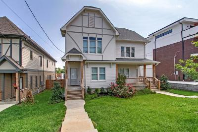 Nashville Single Family Home For Sale: 952 9th Ave S