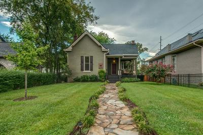 Nashville Single Family Home For Sale: 1402 South St
