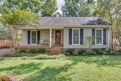 Nashville Single Family Home For Sale: 813 Harpeth Bend Dr
