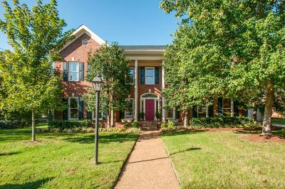 Nashville Single Family Home For Sale: 1001 Willoughby Way