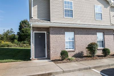 Christian County, Ky, Todd County, Ky, Montgomery County Rental For Rent: 517 Patriot Park Court A