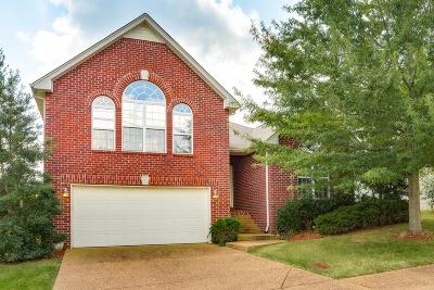 Nashville Single Family Home For Sale: 605 Sugar Mill Dr