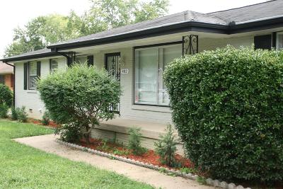 Davidson County Single Family Home For Sale: 482 Rural Hill Rd