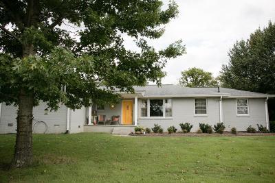 Nashville Single Family Home For Sale: 1200 Shiloh Dr