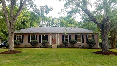 Nashville Single Family Home For Sale: 8028 Sawyer Brown Rd