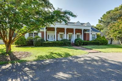 Nashville Single Family Home For Sale: 4909 Granny White Pike