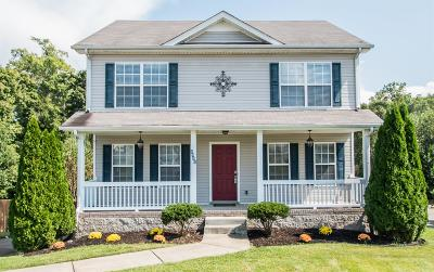 Christian County, Ky, Todd County, Ky, Montgomery County Single Family Home For Sale: 2821 Sharpie Dr