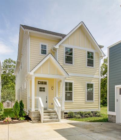 East Nashville Single Family Home Under Contract - Showing: 2904 B Davis Ave