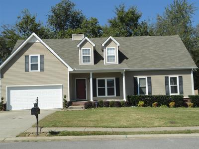 Murfreesboro Single Family Home For Sale: 2913 Waywood Dr