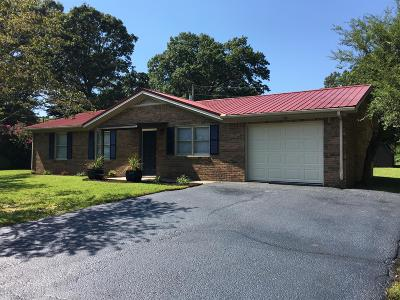 Cookeville Single Family Home Under Contract - Showing: 732 E Jere Whitson Rd