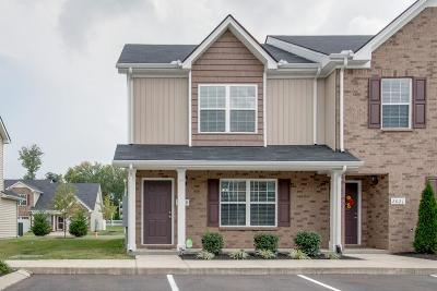 Murfreesboro Condo/Townhouse For Sale: 2019 Debonair