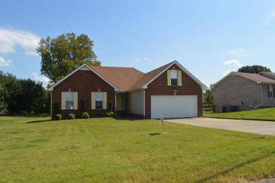 Christian County, Ky, Todd County, Ky, Montgomery County Rental For Rent: 1738 Crestview Drive