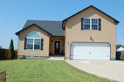 Clarksville Single Family Home For Sale: 2326 Button Dr