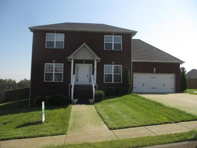 Clarksville Single Family Home For Sale: 109 Summer Terrace Ln