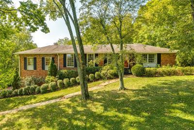 Nashville Single Family Home For Sale: 823 Evansdale Drive