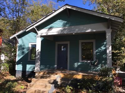 Nashville Single Family Home For Sale: 209 Fall St