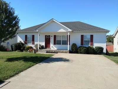 Christian County, Ky, Todd County, Ky, Montgomery County Single Family Home For Sale: 559 Oakmont Dr