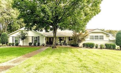 Sumner County Single Family Home For Sale: 122 Fairways Dr