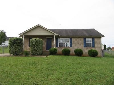 Christian County, Ky, Todd County, Ky, Montgomery County Single Family Home For Sale: 1049 Chucker Ct