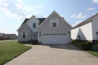 Christian County, Ky, Todd County, Ky, Montgomery County Single Family Home For Sale: 3720 Cindy Jo Dr N