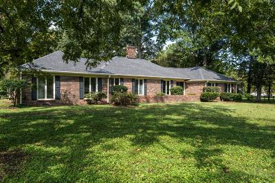 Franklin  Single Family Home For Sale: 1119 Warrior Dr
