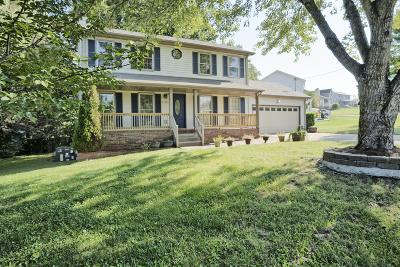 Christian County, Ky, Todd County, Ky, Montgomery County Single Family Home For Sale: 2199 Bauling Ln