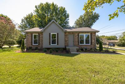 Old Hickory Single Family Home Under Contract - Showing: 4889 Matterhorn Dr