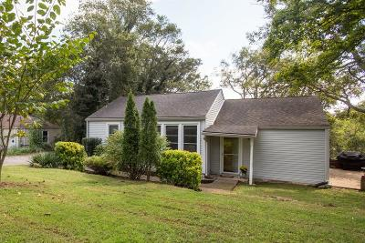 Nashville Single Family Home For Sale: 3804 Inglewood Cir S