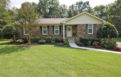 Ashland City Single Family Home Under Contract - Showing: 404 Patricia Dr