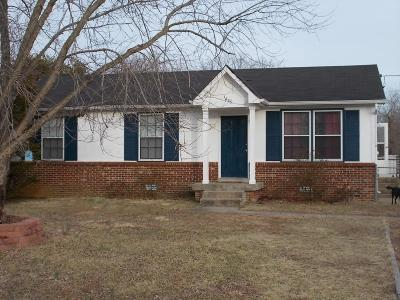 Christian County, Ky, Todd County, Ky, Montgomery County Rental For Rent: 1495 Craig Dr
