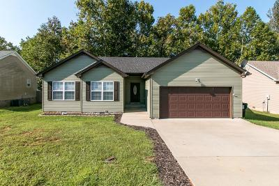 Clarksville Single Family Home For Sale: 1680 Parkside Drive
