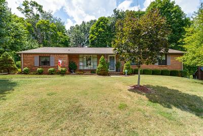 Christian County, Ky, Todd County, Ky, Montgomery County Single Family Home For Sale: 1808 Auburn Dr