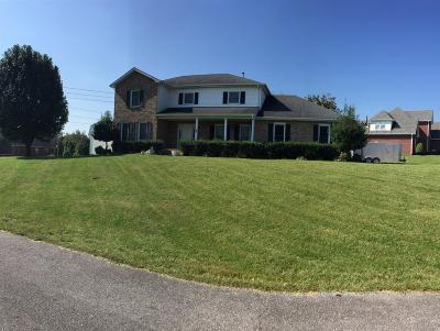 Christian County, Ky, Todd County, Ky, Montgomery County Single Family Home For Sale: 1510 Homeplace Ct