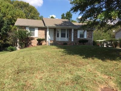 Christian County, Ky, Todd County, Ky, Montgomery County Single Family Home For Sale: 740 Acorn Dr