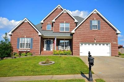 Christian County, Ky, Todd County, Ky, Montgomery County Single Family Home For Sale: 117 Summer Terrace Ln