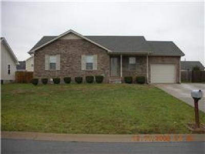 Christian County, Ky, Todd County, Ky, Montgomery County Rental For Rent: 3256 Tabby Drive