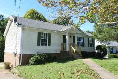 Christian County, Ky, Todd County, Ky, Montgomery County Rental For Rent: 2784 Union Hall Road