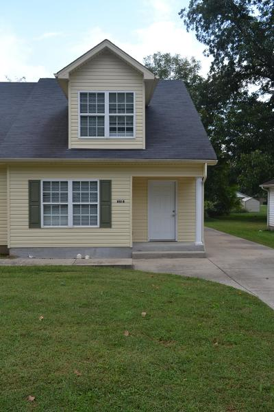 Rutherford County Rental For Rent: 810 B N Academy #B