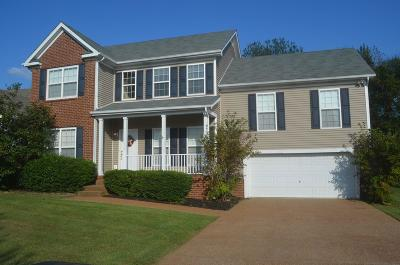 Thompsons Station  Single Family Home Under Contract - Showing: 1143 Summerville Cir