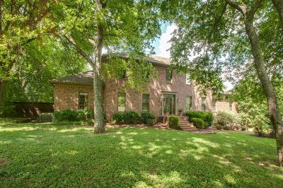 Brentwood Single Family Home Under Contract - Showing: 1200 Choctaw Trl