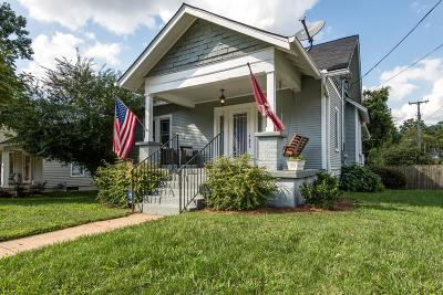 Sylvan Park Single Family Home Under Contract - Showing: 3700 Murphy Rd