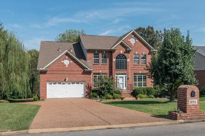 Goodlettsville Single Family Home For Sale: 825 Loretta Dr