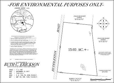 Residential Lots & Land For Sale: 200 Huddleston Rd