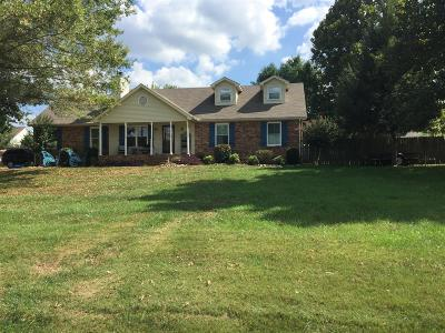 Thompsons Station  Single Family Home Under Contract - Showing: 2850 Windy Way