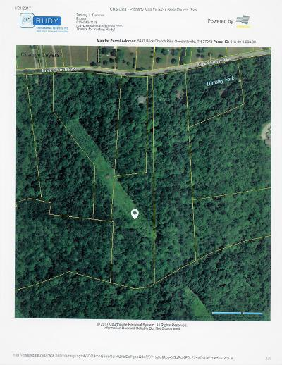 Goodlettsville Residential Lots & Land For Sale: 5437 Brick Church Pike