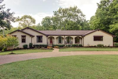 Brentwood  Single Family Home For Sale: 5305 Lenox Rd