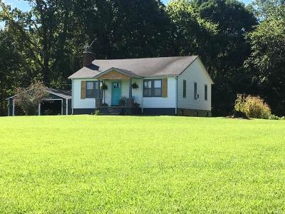 Ashland City Single Family Home Under Contract - Showing: 2724 Bearwallow Rd