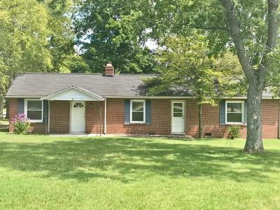Franklin  Single Family Home For Sale: 532 Franklin Rd